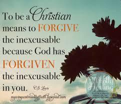 forgive forgiven